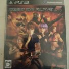 Dead or Alive 5 (Sony PlayStation 3, 2012) PS3 Japan Import USA Seller