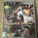 Dragon's Dogma (Sony PlayStation 3, 2012) PS3 Japan Import USA Seller