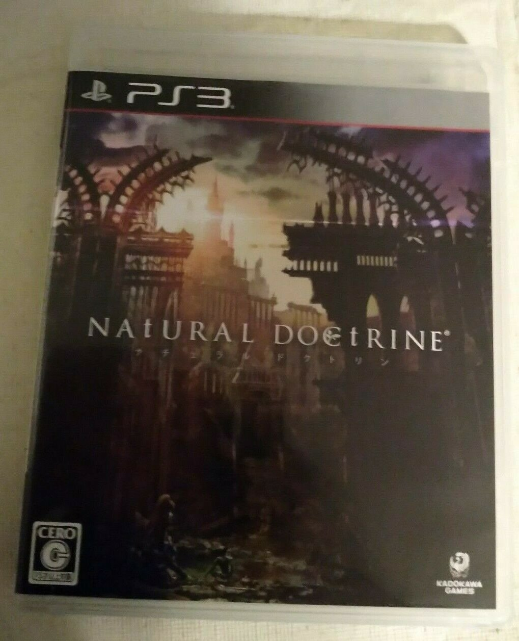 Natural Doctrine (Sony PlayStation 3, 2014) PS3 Japan Import USA Seller