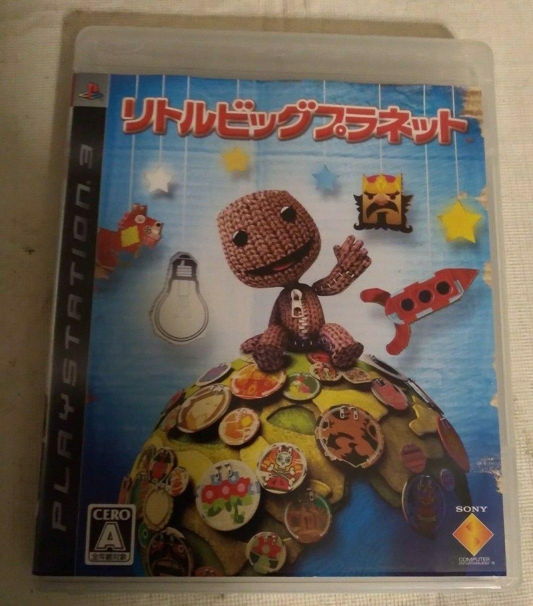 LittleBigPlanet (Sony PlayStation 3, 2008) PS3 Japan Import USA Seller