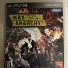 Max Anarchy (Sony PlayStation 3) PS3 Japan Import USA Seller