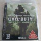 Call of Duty 4: Modern Warfare (Sony PlayStation 3) PS3 Japan Import USA Seller