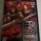 Shin Sangoku Musou 3 Empires (Sony PlayStation 2) Japan Import PS2 US Seller