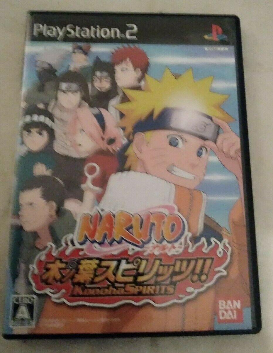 Naruto Konoha Spirits (Sony Playstation 2) Japan Import PS2 US Seller