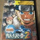 Naruto Narutimett Hero 2 (Sony PlayStation 2, 2003) Japan Import PS2 US Seller
