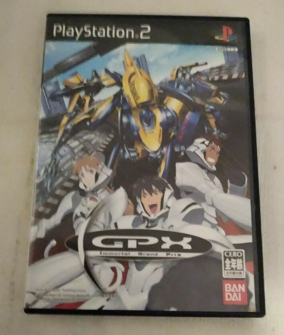 IGPX: Immortal Grand Prix (Sony PlayStation 2, 2006) Japan Import PS2