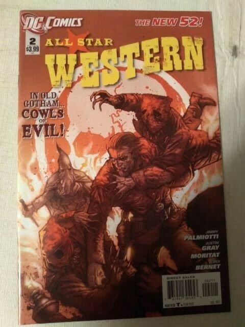 All Star Western #2 VF/NM Jonah Hex DC Comics The New 52