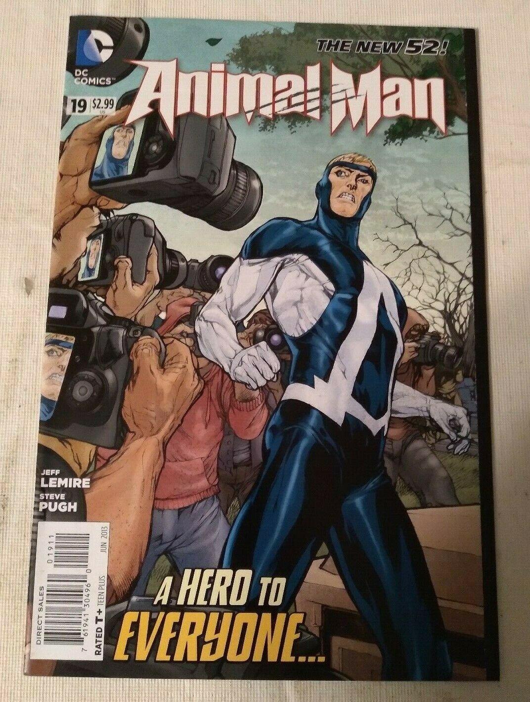 Animal Man #19 F/VF Jeff Lemire DC Comics The New 52