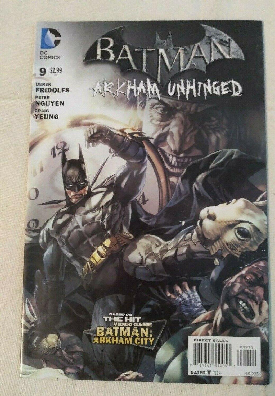 Batman Arkham Unhinged #9 VF/NM DC Comics