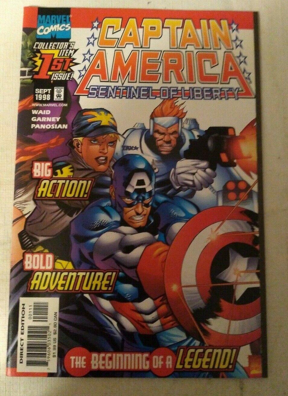 Captain America Sentinel of Liberty #1 VF/NM Mark Waid Marvel Comics