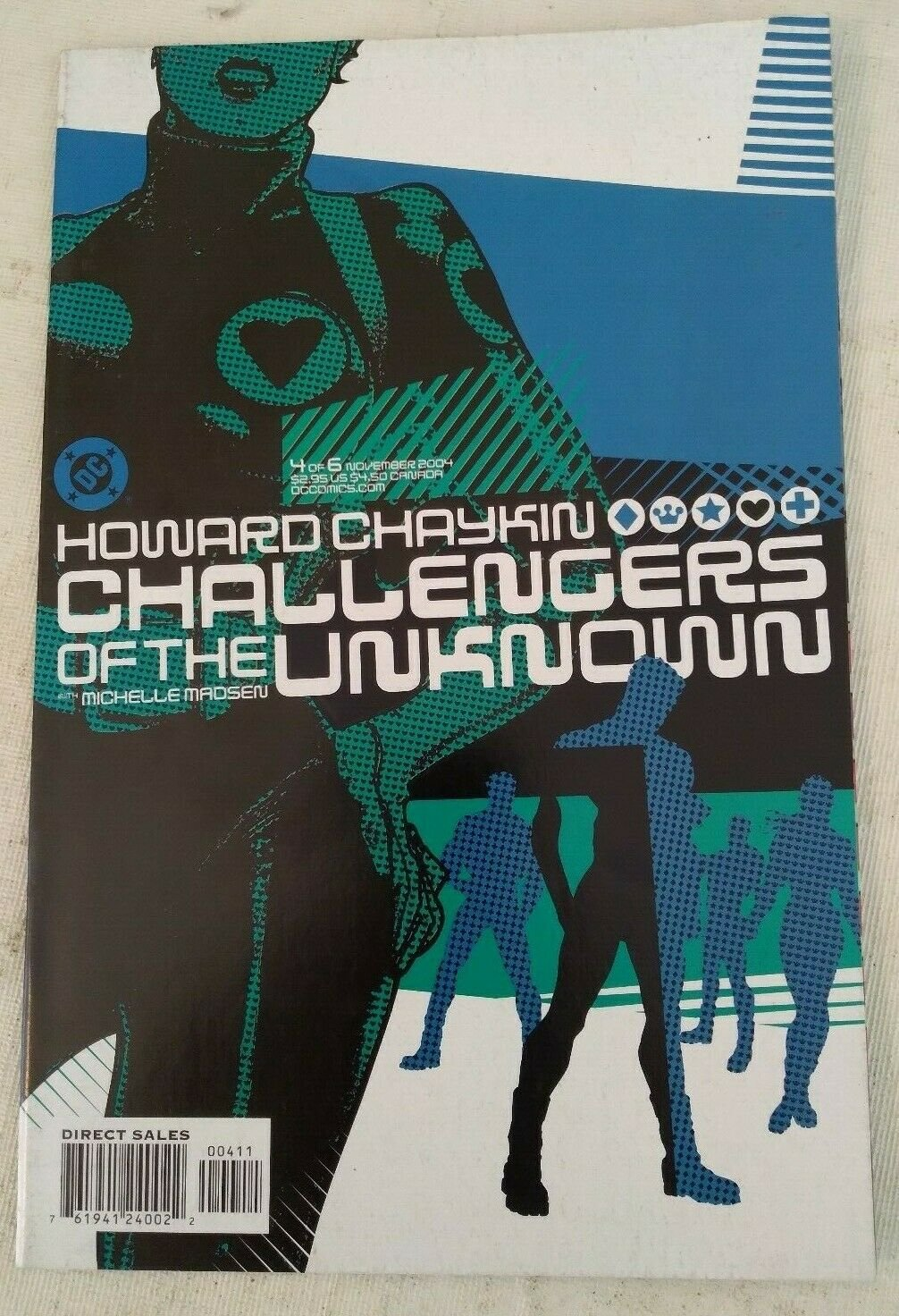 Challengers of the Unknown Vol 4 #4 VF/NM DC Comics Howard Chaykin