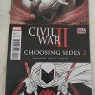 Civil War 2 Choosing Sides #2 VF/NM Marvel Comics