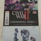 Civil War 2 Choosing Sides #3 VF/NM Marvel Comics