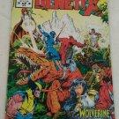 Codename Genetix #3 F/VF Marvel UK Wolverine Kazar
