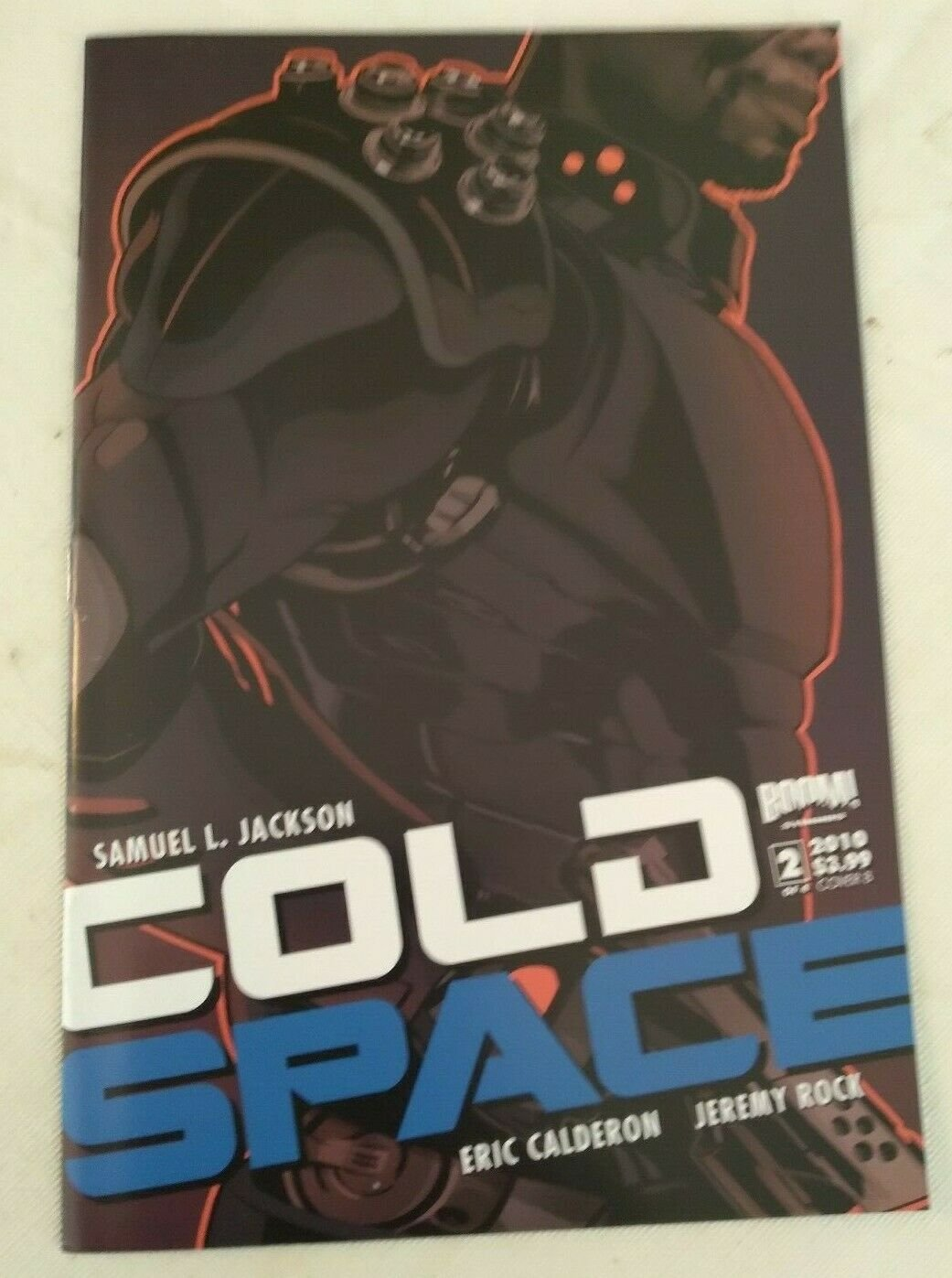 Cold Space #2 Cover B VF/NM Samuel L Jackson Boom Studios