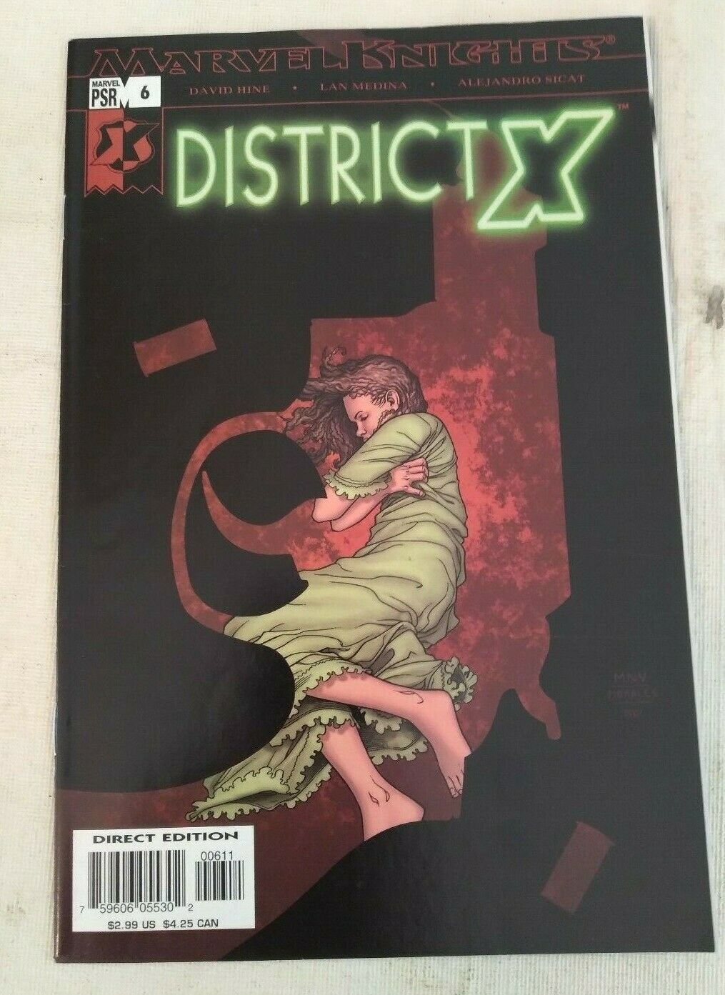 District X #6 VF/NM Marvel Knights X-men Bishop Xmen