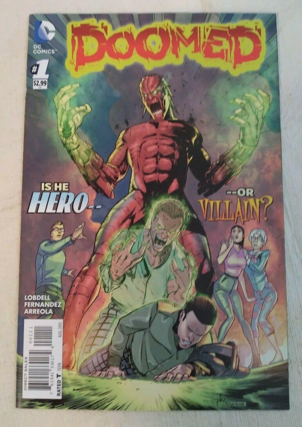 Doomed #1 VF/NM DC Comics