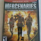 Mercenaries: Playground of Destruction Greatest Hits (PlayStation 2, 2005) PS2