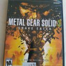 Metal Gear Solid 3: Snake Eater (Sony PlayStation 2, 2004)With Manual Tested PS2