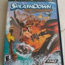 Splashdown: Rides Gone Wild (Sony PlayStation 2, 2003) With Manual Tested PS2