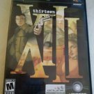 XIII (Sony PlayStation 2, 2003) Complete With Manual Tested PS2