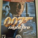James Bond 007: NightFire Greatest Hits (Sony PlayStation 2, 2002) Tested PS2