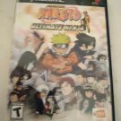 Naruto: Ultimate Ninja (Sony PlayStation 2, 2006) Complete W/ Manual Tested PS2