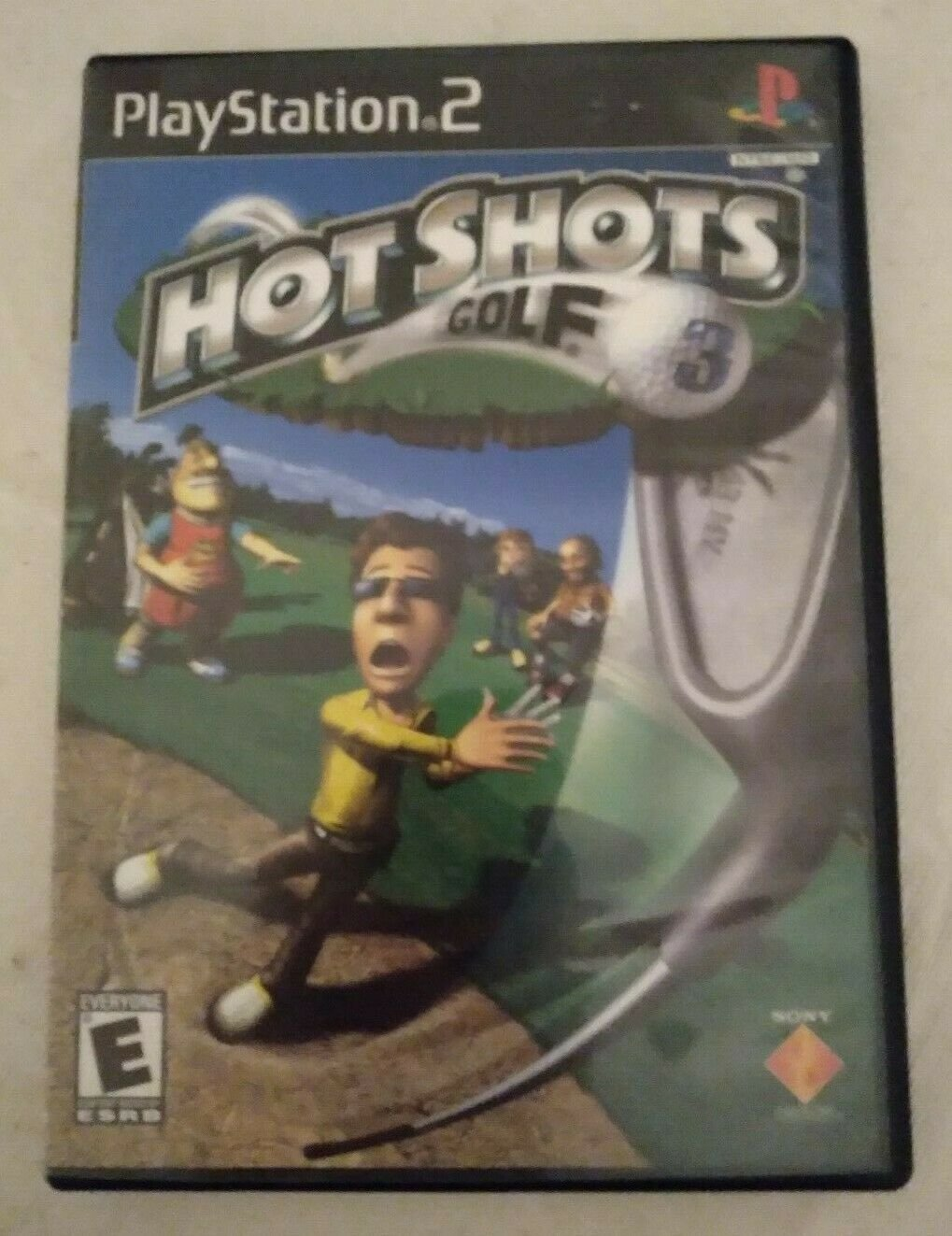 Hot Shots Golf 3 (Sony PlayStation 2, 2003) Complete W/ Manual Tested PS2