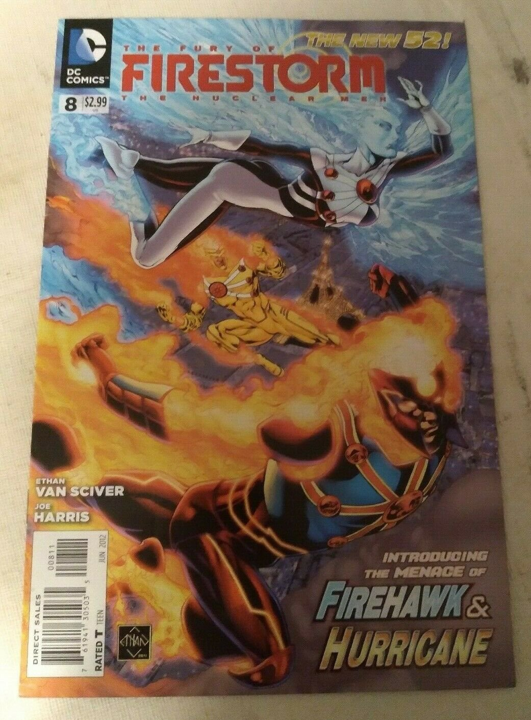 Fury of Firestorm The Nuclear Men #8 VF/NM DC Comics The New 52