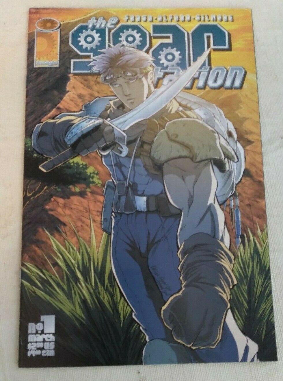 Gear Station #1 VF/NM Image Comics