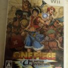 One Piece Unlimited Cruise: Episode 1 (Nintendo Wii, 2008) Japan Import Tested