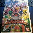 Super Sentai Battle Ranger Cross W/O Benefits ( Wii) Japan Import Power Rangers