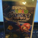 Super Mario Galaxy (Nintendo Wii, 2007) With Manual Japan Import tested