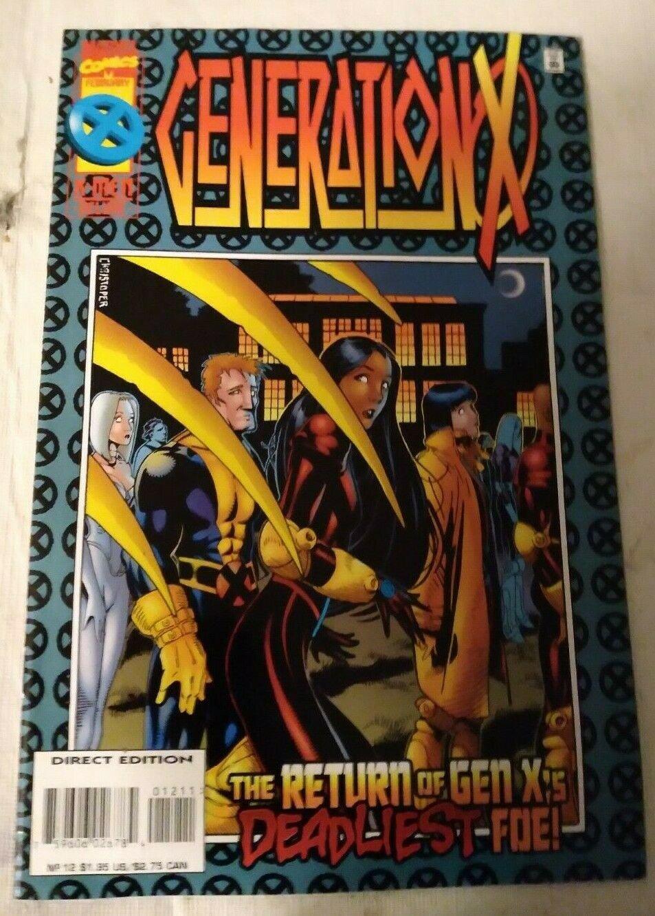 Generation X #12 VF/NM Marvel Comics X-men Xmen