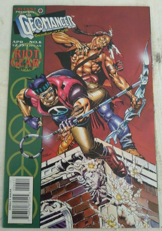Geomancer #6 VF/NM Valiant Comics