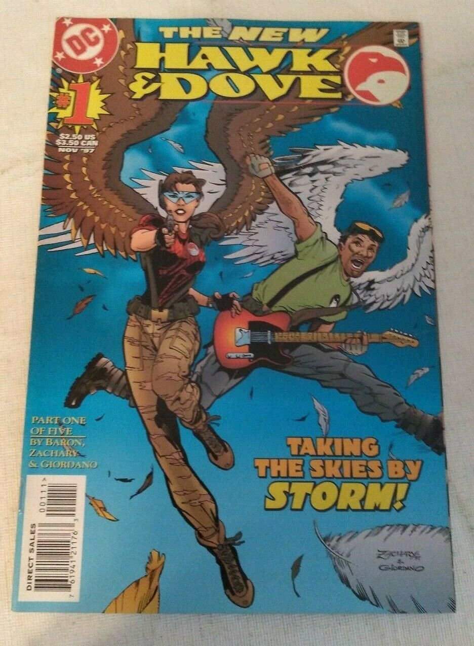 Hawk & Dove Vol 4 #1 VF/NM DC Comics
