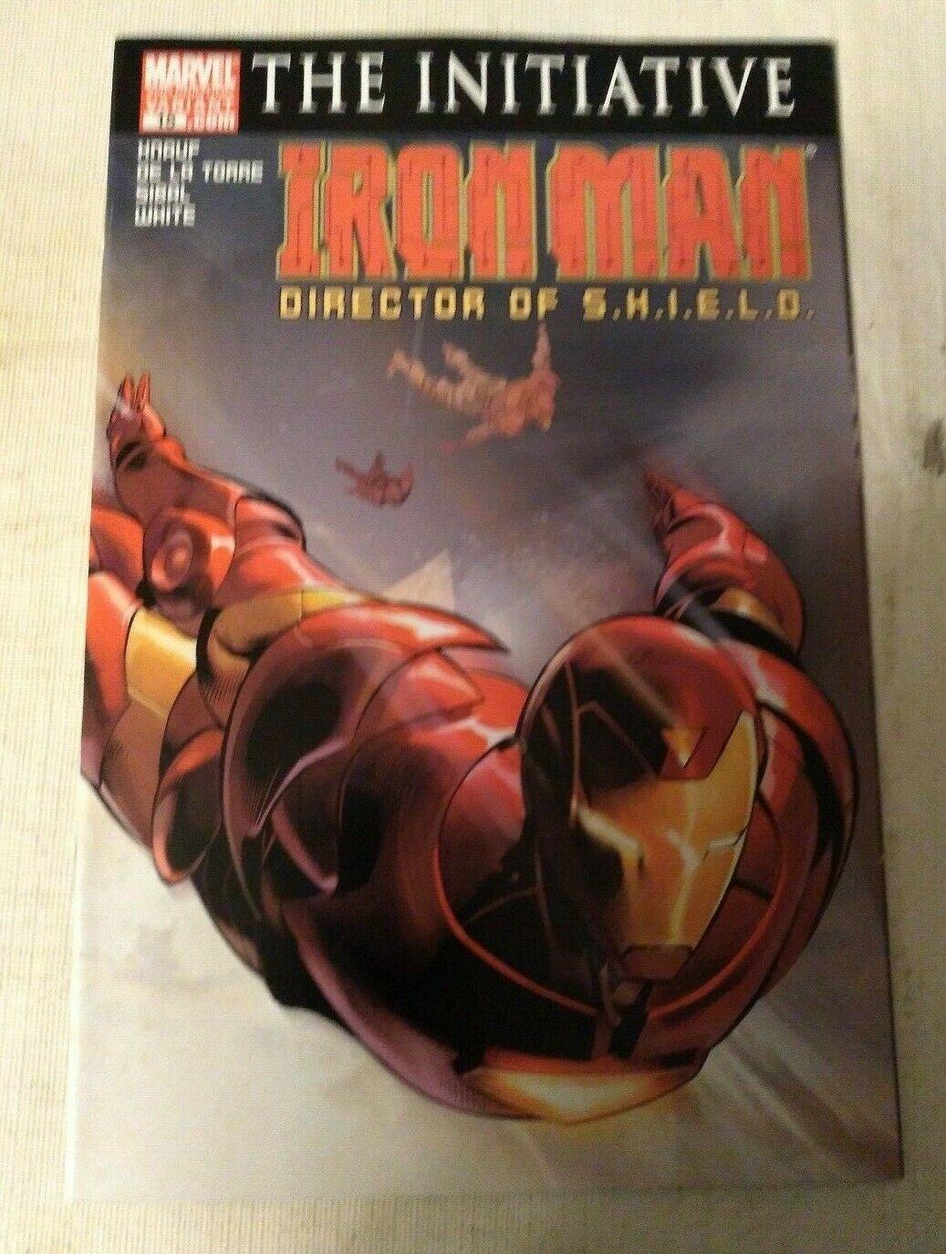 Iron Man Director of Shield #15 2nd Print Variant VF/NM Marvel Comics