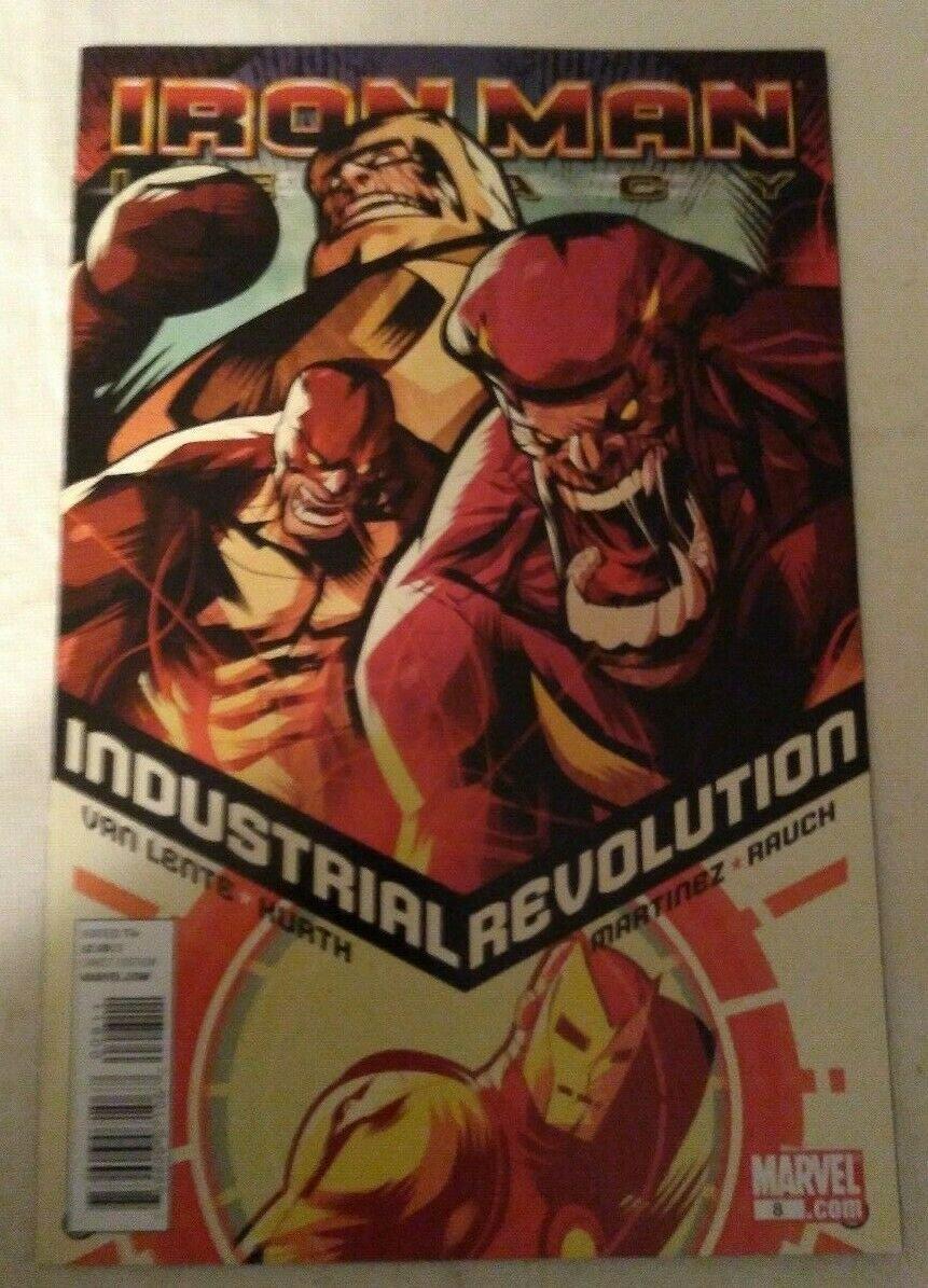 Iron Man Legacy #8 VF/NM Marvel Comics