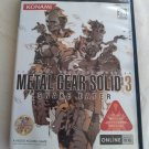 Metal Gear Solid 3: Snake Eater (Sony PlayStation 2, 2004) Japan Import PS2