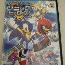 Sonic Heroes (Sony PlayStation 2, 2003) With Manual Japan Import PS2