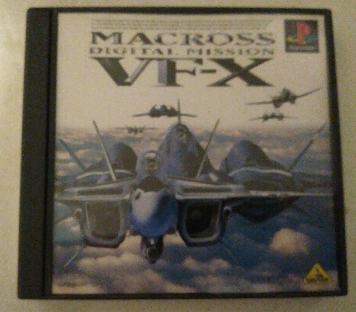 Macross Digital Mission VF-X (Sony PlayStation 1)) Japan Import PS1 PS2