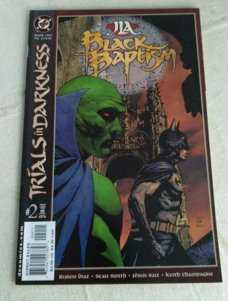 JLA Black Baptism #2 VF/NM DC Comics Justice League
