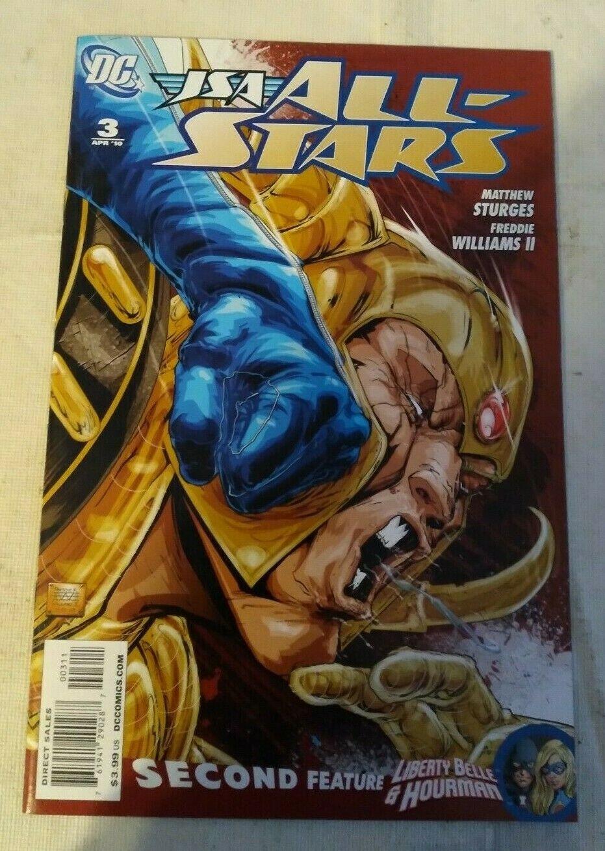JSA All-Stars #3 VF/NM Matthew Sturges DC Comics Stargirl