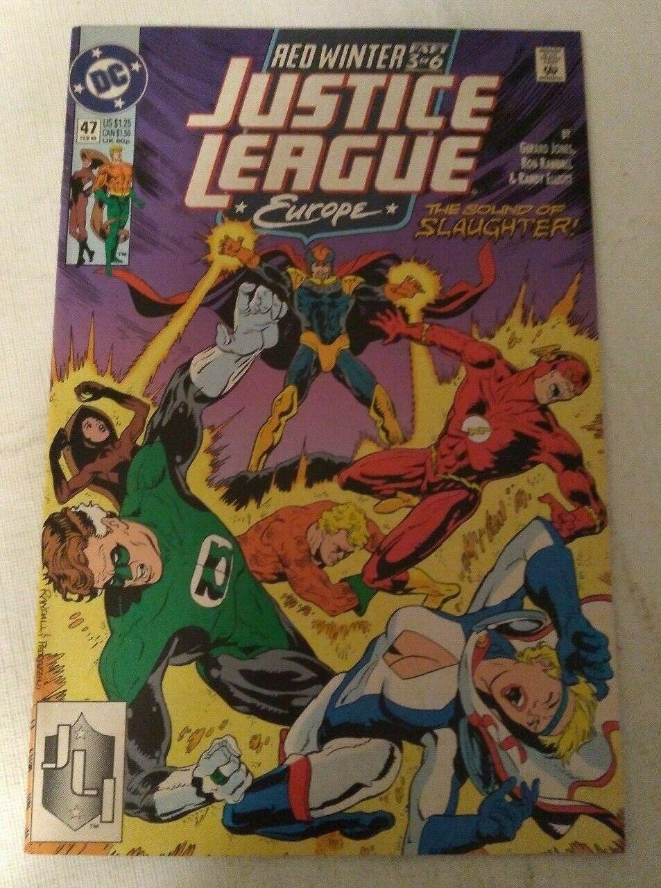 Justice League Europe #47 VF/NM DC Comics