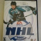 NHL 2001 Hockey (Sony PlayStation 2, 2000) With Manual PS2 Testedl