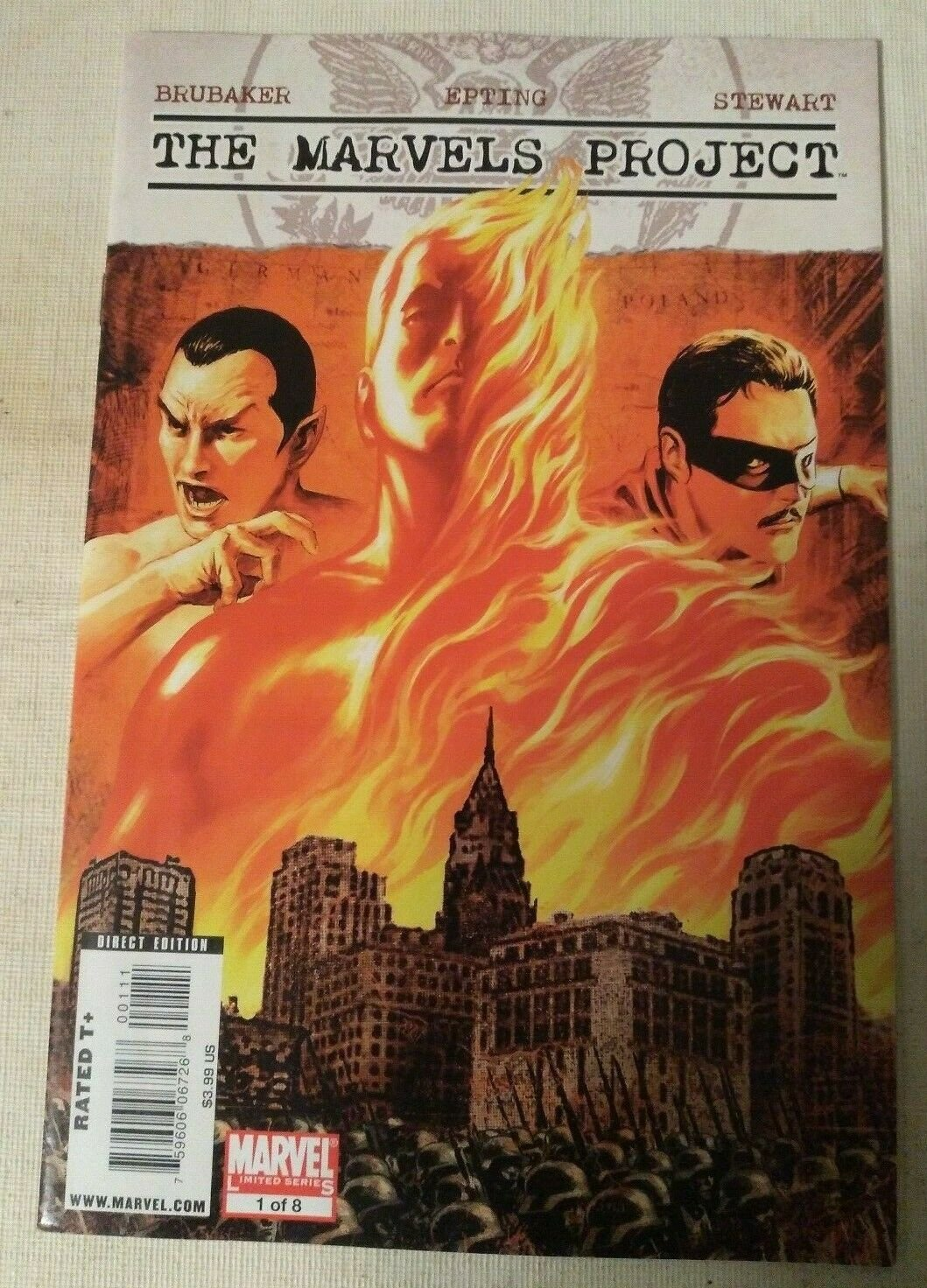 Marvels Project #1 Cover A VF/NM Ed Brubaker