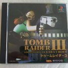 Tomb Raider III: Adventures of Lara Croft (Sony PlayStation 1) Japan Import PS1