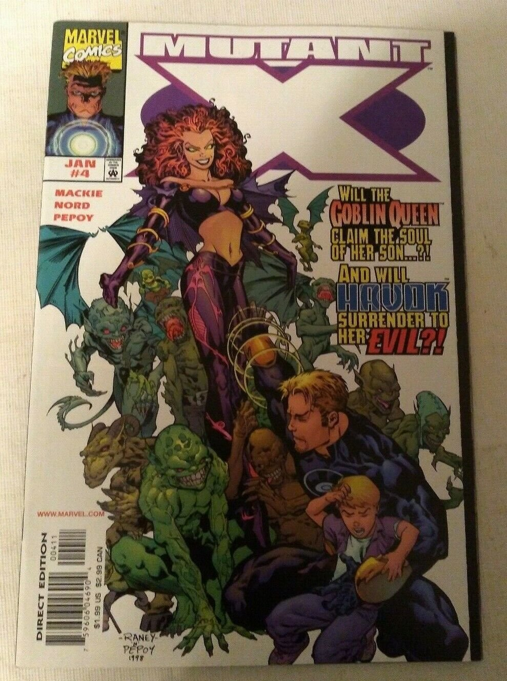 Mutant X #4 VF/NM Marvel Comics X-men Xmen