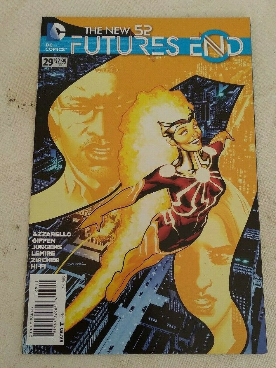 New 52 Futures End #29 VF/NM DC Comics