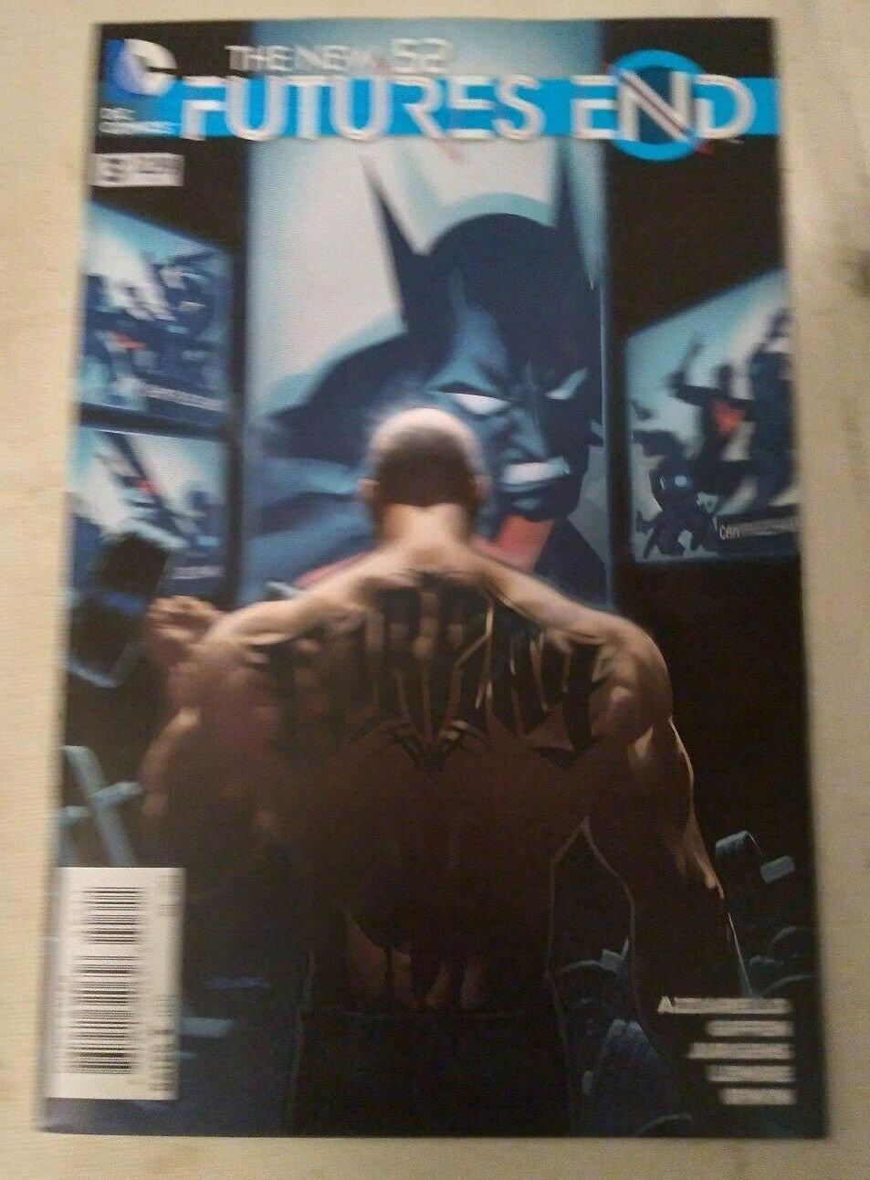 New 52 Futures End #3 VF/NM DC Comics Batman Beyond